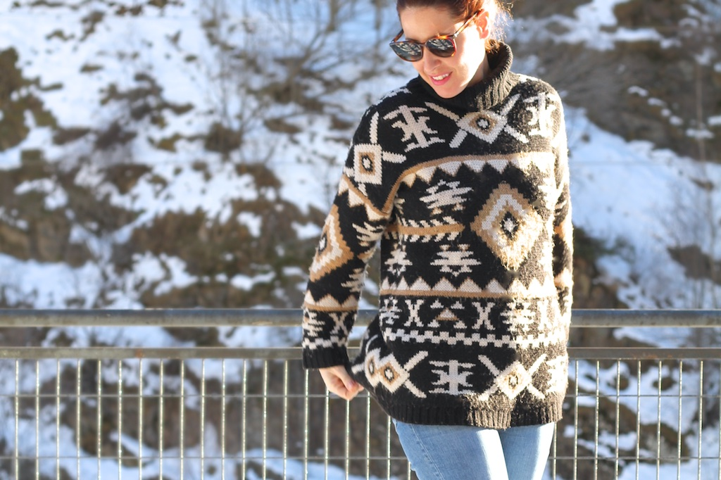 snow-blogger-ugg-fashion-cèline-sunglasses-descalzaporelparque