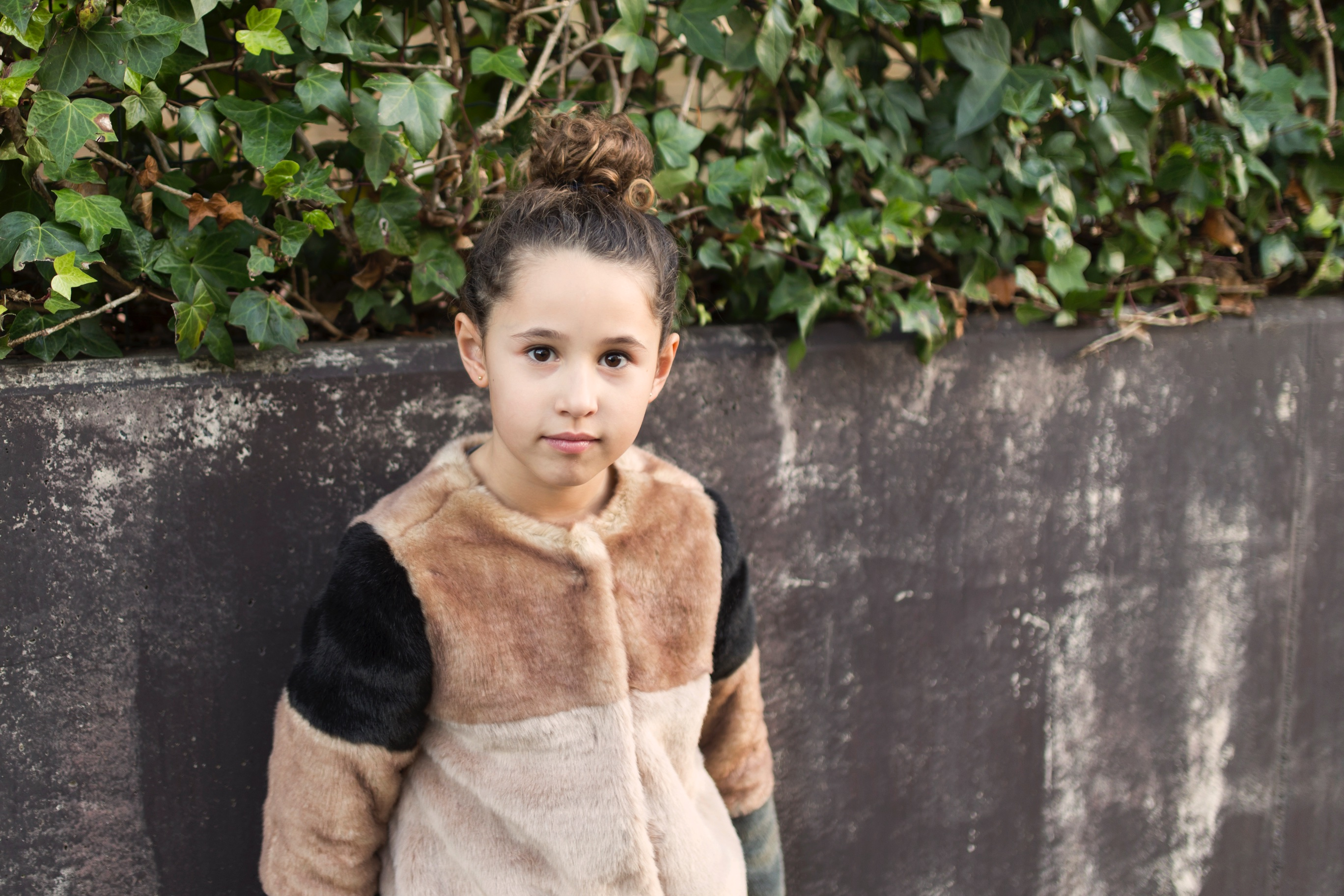 Jimena -style-zara coat-niños-moda-look-fashion girl-zara kids-descalzaporelparque